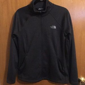 Dark grey/ black North face jacket